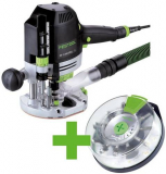 Festool Horná frézka OF 1400 EBQ-Plus + Box-OF-S 8/10x HW
