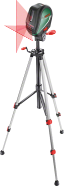 Krížový čiarový laser UniversalLevel 3 - Set