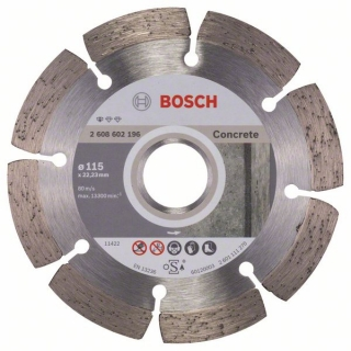 Diamantový rezací kotúč 115 mm, Standard for Concrete BOSCH 2608602196