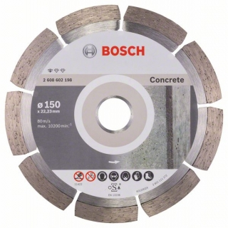Diamantový rezací kotúč 150 mm, Standard for Concrete BOSCH 2608602198