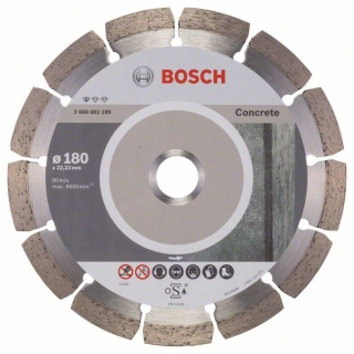 Diamantový rezací kotúč 180 mm, Standard for Concrete BOSCH 2608602199