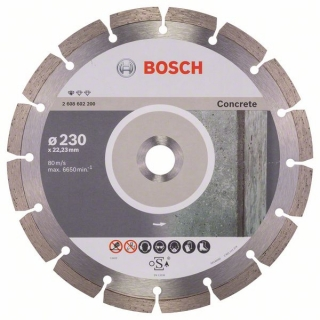 Diamantový rezací kotúč 230 mm, Standard for Concrete BOSCH 2608602200