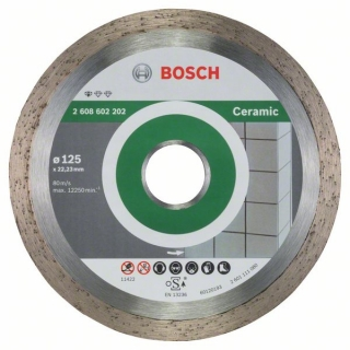 Diamantový rezací kotúč 125 mm,  Standard for Ceramic BOSCH 2608602202