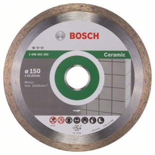 Diamantový rezací kotúč 150 mm,  Standard for Ceramic BOSCH 2608602203