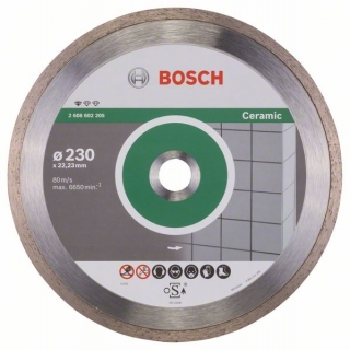 Diamantový rezací kotúč 230 mm, Standard for Ceramic BOSCH 2608602205