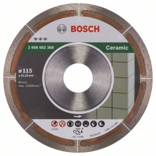 Diamantový rezací kotúč 115mm, Best for Ceramic Extraclean BOSCH 2608602368