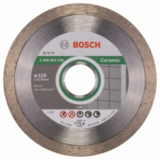 Diamantový rezací kotúč 110 mm, Standard for Ceramic BOSCH 2608602535
