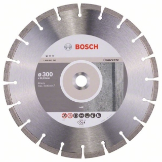 Diamantový rezací kotúč 300 mm, Standard for Concrete BOSCH 2608602542