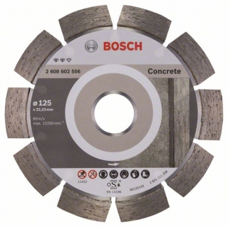 Diamantový rezací kotúč 125 mm, Expert for Concrete BOSCH 2608602556