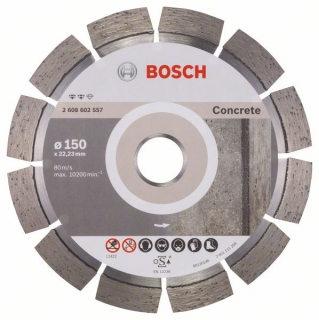 Diamantový rezací kotúč 150 mm, Expert for Concrete BOSCH 2608602557
