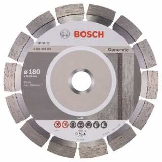 Diamantový rezací kotúč 180 mm, Expert for Concrete BOSCH 2608602558