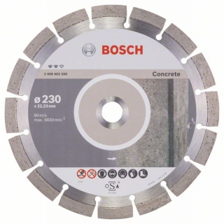 Diamantový rezací kotúč 230 mm, Expert for Concrete BOSCH 2608602559