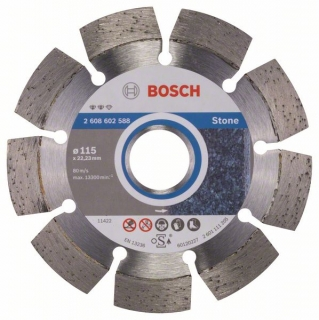 Diamantový rezací kotúč 115 mm, Expert for Stone BOSCH 2608602588