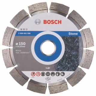 Diamantový rezací kotúč 150 mm, Expert for Stone BOSCH 2608602590