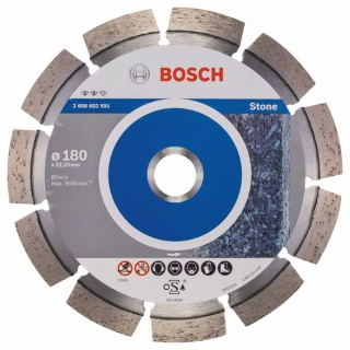 Diamantový rezací kotúč 180 mm, Expert for Stone BOSCH 2608602591