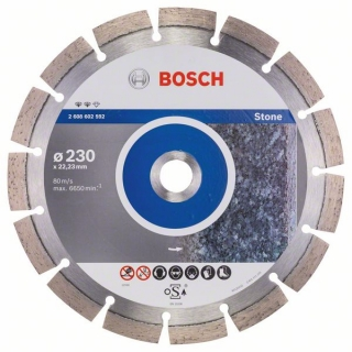Diamantový rezací kotúč 230 mm, Expert for Stone BOSCH 2608602592
