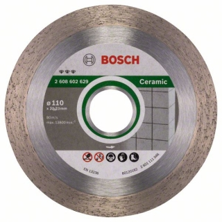 Diamantový rezací kotúč 110 mm, Best for Ceramic BOSCH 2608602629