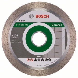 Diamantový rezací kotúč 125 mm, Best for Ceramic BOSCH 2608602631