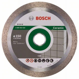 Diamantový rezací kotúč 150 mm, Best for Ceramic BOSCH 2608602632