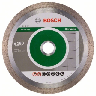 Diamantový rezací kotúč 180 mm, Best for Ceramic BOSCH 2608602633