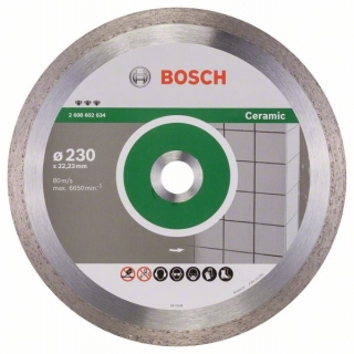 Diamantový rezací kotúč 230 mm, Best for Ceramic BOSCH 2608602634