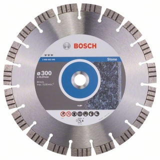 Diamantový rezací kotúč 300 mm, Best for Stone BOSCH 2608602646