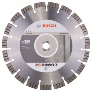 Diamantový rezací kotúč 300 mm, Best for Concrete BOSCH 2608602656