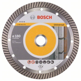 Diamantový rezací kotúč 180 mm, Best for Universal Turbo BOSCH 2608602674