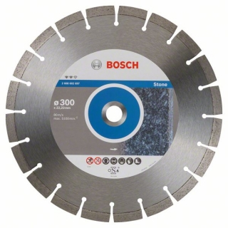 Diamantový rezací kotúč 300 mm, Expert for Stone BOSCH 2608602697