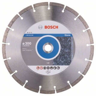 Diamantový rezací kotúč 300 mm, Standard for Stone BOSCH 2608602698
