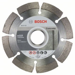 Diamantový rezací kotúč 115 mm, Standard for Concrete BOSCH 2608603239