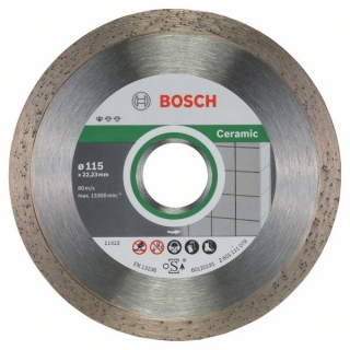Diamantový rezací kotúč 115 mm, Standard for Ceramic BOSCH 2608603231