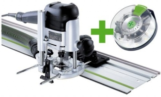 Festool Horná frézka OF 1010 EBQ-Set + Box-OF-S 8/10x HW